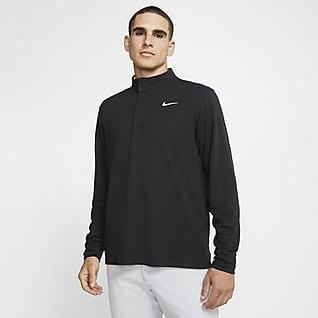 Nike Dri-FIT Victory Golftop met halflange rits voor heren