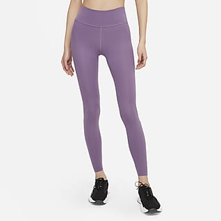 Nike One Luxe เลกกิ้งเอวปานกลางผู้หญิง
