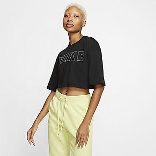 Nike Air T-shirt recortada para mulher