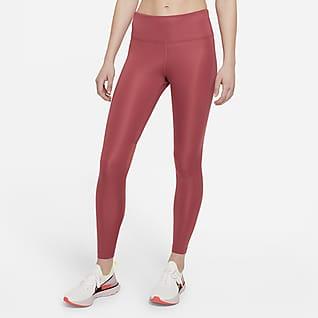 Nike Epic Fast Lauf-Leggings mit halbhohem Bund für Damen