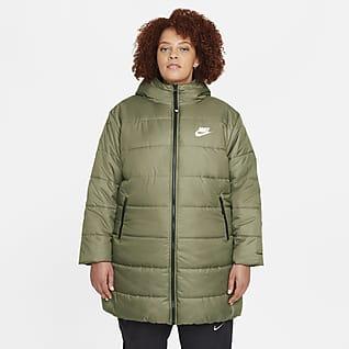 Nike Sportswear Therma-FIT Repel Parka con cappuccio (Plus size) - Donna