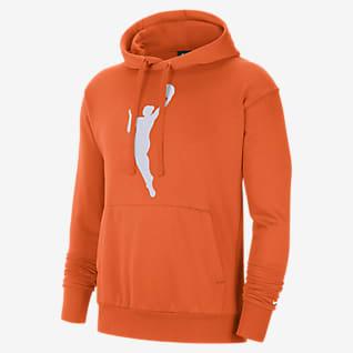 WNBA Essential Nike-huvtröja i fleece för män
