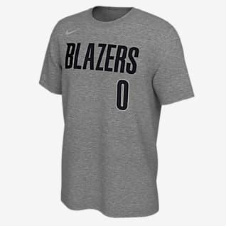 Damian Lillard Trail Blazers Earned Edition Men's Nike NBA T-Shirt