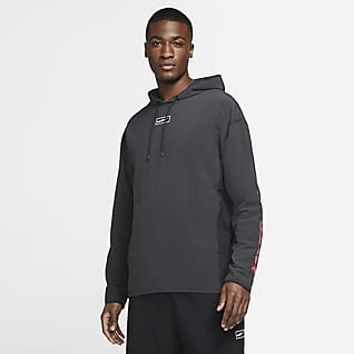 Nike Sport Clash Men's Woven Pullover Training Hoodie