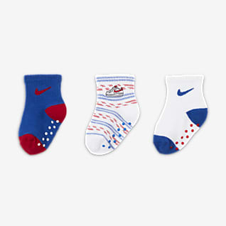 Nike Baby Gripper Socks (3 Pairs)