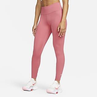 Nike One เลกกิ้งเอวปานกลางผู้หญิง