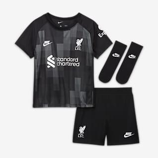 Liverpool F.C. 2021/22 Goalkeeper Baby/Toddler Football Kit