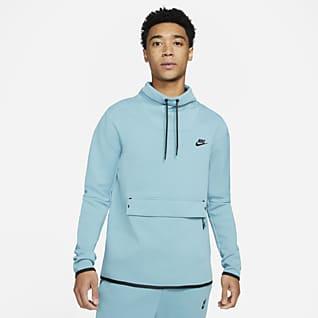 Nike Sportswear Tech Fleece Maglia con collo a imbuto e manica lunga - Uomo