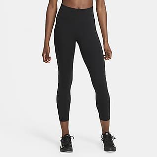 Nike One Damskie legginsy 7/8 ze średnim stanem