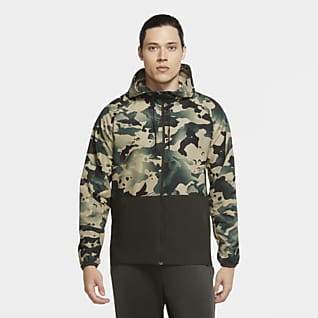 Nike Pro Flex Vent Men's Full-Zip Camo Jacket
