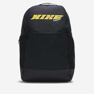 Nike Brasilia 圖樣訓練背包 (中)