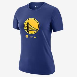 Golden State Warriors Logo Women's Nike Dri-FIT NBA T-Shirt