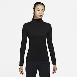 Nike Yoga Luxe Dri-FIT 女子长袖罗纹上衣