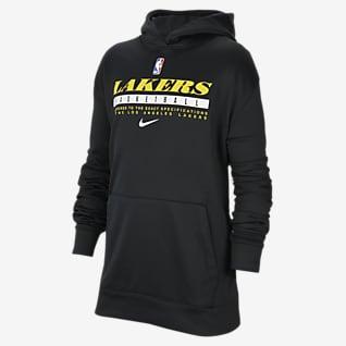 Los Angeles Lakers Spotlight Bluza z kapturem dla dużych dzieci Nike NBA