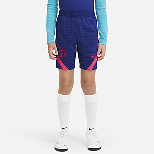 F.C. Barcelona Strike Older Kids' Football Shorts