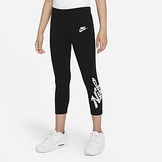Nike Sportswear Favorites Leggins cortos para niña talla grande