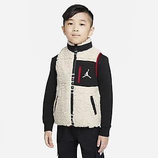 Jordan 幼童全长拉链开襟马甲