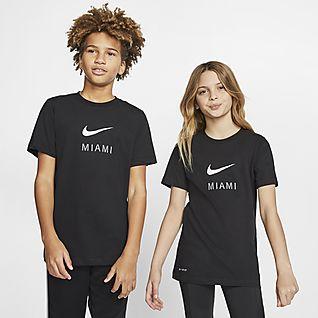 Nike Dri-FIT Miami Big Kids' T-Shirt