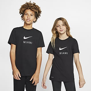 Nike Dri-FIT Miami Big Kids' T-Shirt