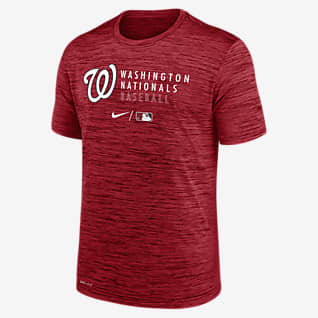 Nike Dri-FIT Velocity Practice (MLB Washington Nationals) Men's T-Shirt