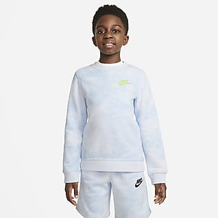 Nike Sportswear Magic Club Big Kids' (Boys') Tie-Dye Crew