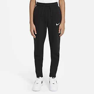 Nike Sportswear Swoosh Fleecebukser til store børn (drenge)