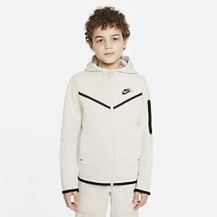 Nike Sportswear Tech Fleece Sweat à capuche et zip pour Garçon plus âgé