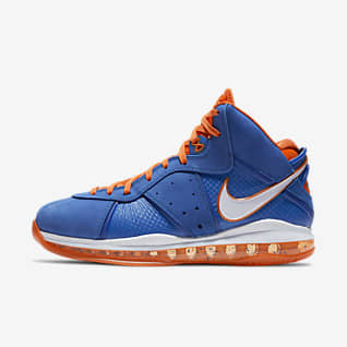 LeBron 8 'Blue/Orange' Men's Shoe