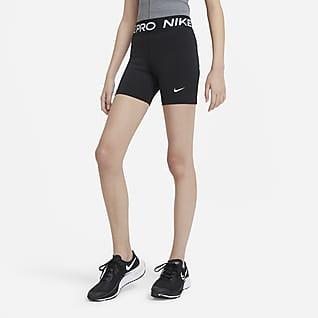 Nike Pro Shorts til store barn (jente)