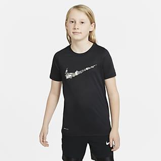 Nike Dri-FIT Футболка для тренинга для мальчиков школьного возраста