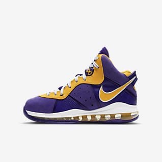Nike LeBron 8 Sko til større børn