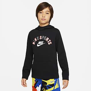 Nike Sportswear Sudadera con capucha para niño talla grande