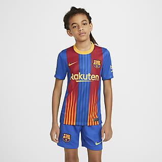 FC Barcelona Stadium Big Kids' Soccer Jersey