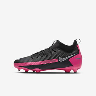 Nike Jr. Phantom GT Academy Dynamic Fit MG Chaussure de football à crampons multi-surfaces pour Jeune enfant/Enfant plus âgé