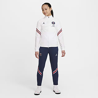 Paris Saint-Germain Strike Home Футбольный костюм для школьников Nike Dri-FIT