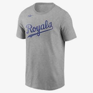 Nike Cooperstown Wordmark (MLB Kansas City Royals) Men's T-Shirt