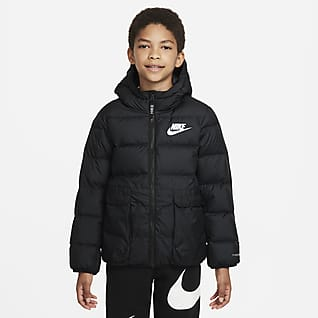 Nike Sportswear Therma-FIT Péřová bunda pro větší děti