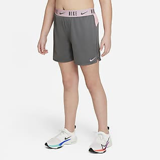 "Nike Dri-FIT Trophy Big Kids' (Girls') 6"" Training Shorts (Extended Size)"