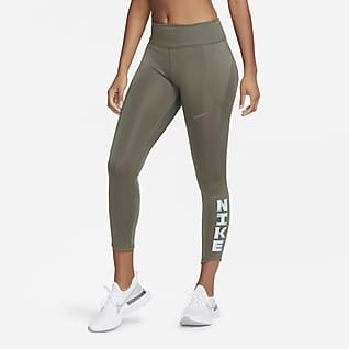 Nike Icon Clash Fast Women's Mid-Rise 7/8 Running Leggings