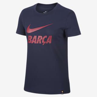 FC Barcelona Fotbolls-t-shirt för kvinnor