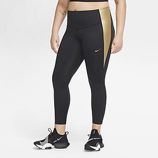 Nike One Women's Mid-Rise Colour-Block Leggings (Plus Size)