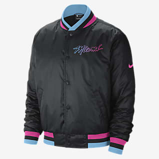 Miami Heat City Edition Courtside Мужская куртка Nike НБА