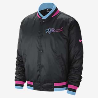 Miami Heat City Edition Courtside Men's Nike NBA Jacket