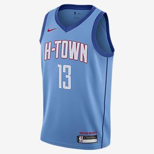 James Harden Rockets City Edition Older Kids' Nike NBA Swingman Jersey