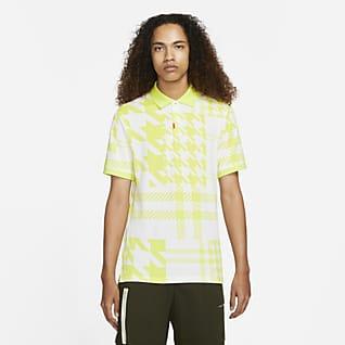 Das Nike Polo Herren-Poloshirt in schmaler Passform mit Karomuster