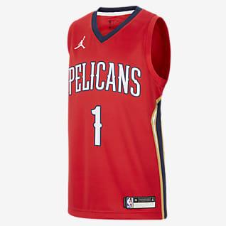 New Orleans Pelicans Statement Edition Older Kids' Jordan NBA Swingman Jersey