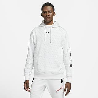 Nike Sportswear Felpa pullover in fleece con cappuccio - Uomo