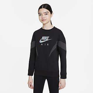 Nike Air Толстовка из ткани френч терри для девочек школьного возраста