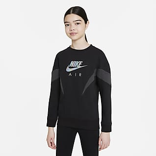 Nike Air Frottésweatshirt til store barn (jente)