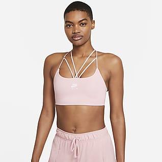 Nike Air Dri-FIT Indy Brassière de sport rembourrée à maintien léger et bretelles pour Femme